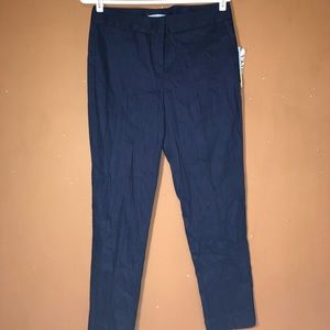Antonio Melani Navy Pants Size 6 NWT New